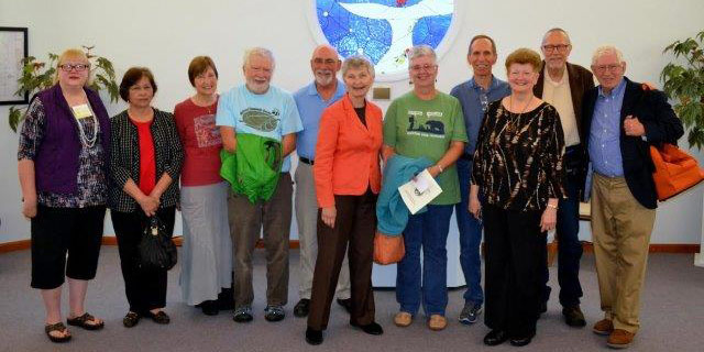 First UU church honors its original building members