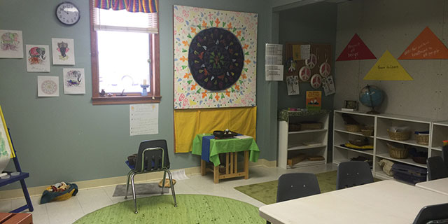 Pre-K – 2nd Grade children New Space