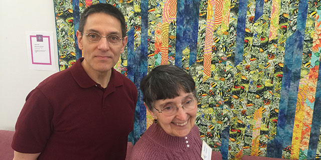 The Annual Quilt Show warmed the Church Sanctuary