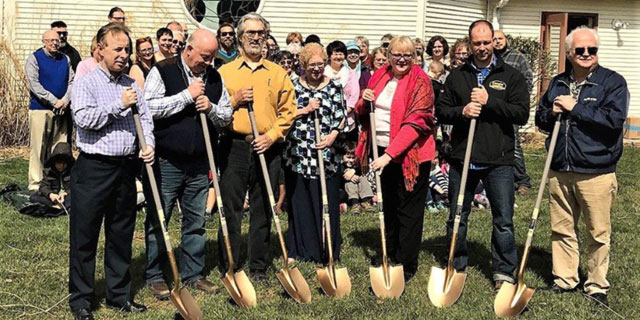Celebrating the Building Expansion Project with the Groundbreaking Ceremony