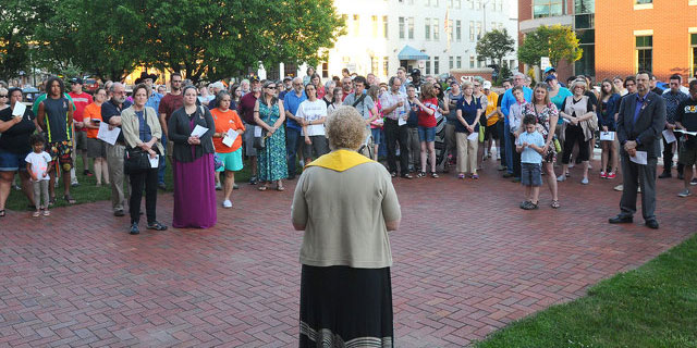 Indiana Expresses Solidarity with a Meaningful Vigil for Lives Lost in Orlando FL