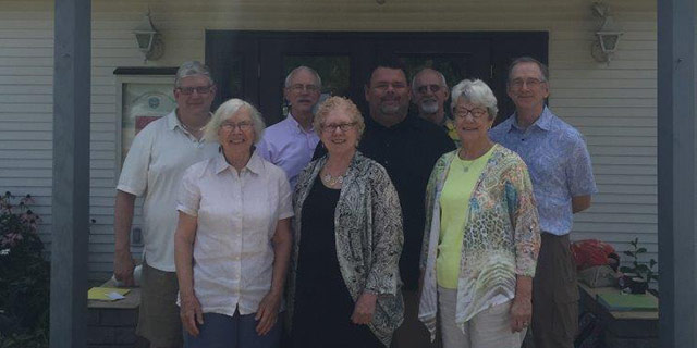 Members of Greater Pittsburgh Group visited First UU on the first Sunday in August 2015.
