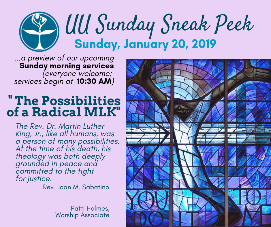 Sunday Services - First Unitarian Universalist Church of Indiana, PA