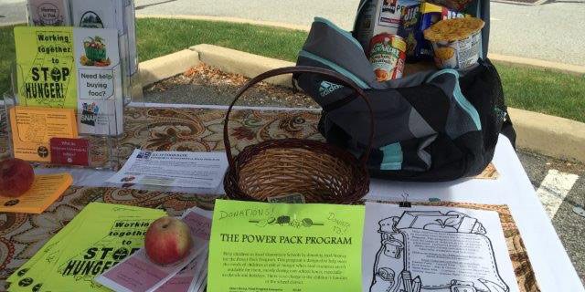 Working Together to STOP Hunger in Indiana County with the purpose of this First UU Social Action activity.